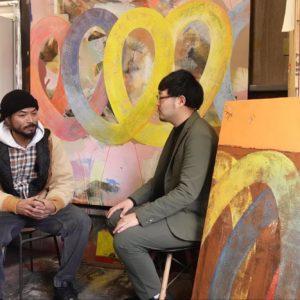 江崎さんインタビュー『アーティストから見た、アートの購入、投資の仕方』